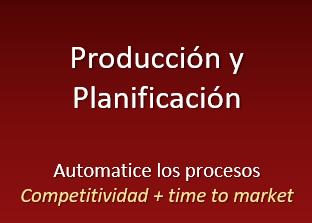 producción, planificación